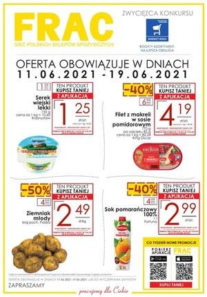 Gazetka promocyjna FRAC - Co tydzień nowe promocje w  sklepach FRAC