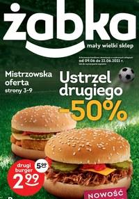 Gazetka promocyjna Żabka - Promocje na burgery w Żabce