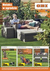 Gazetka promocyjna OBI - Relaks w o ogrodzie z OBI