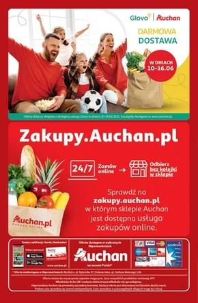 Hiper kibicowanie z Auchan