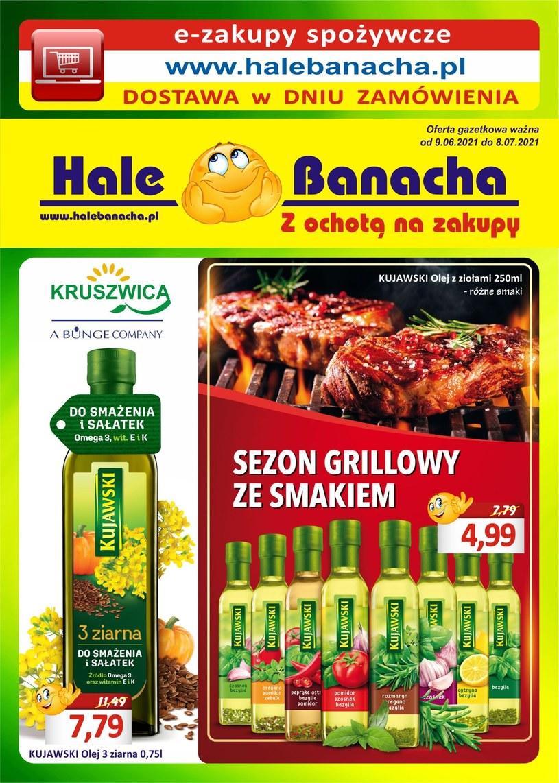 Gazetka promocyjna Hala Banacha - ważna od 09. 06. 2021 do 07. 07. 2021
