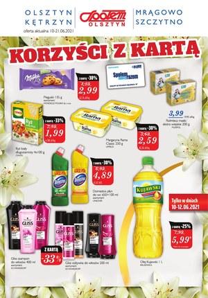 Gazetka promocyjna Społem Olsztyn - Korzyści z kartą w Społem Olsztyn