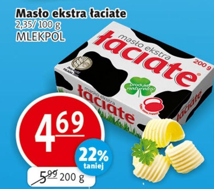 Masło Łaciate niska cena