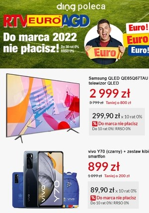 Gazetka promocyjna RTV EURO AGD - RTV Euro AGD - mistrzowskie