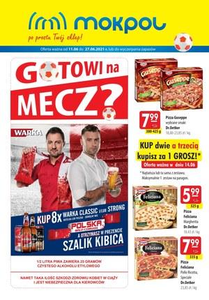 Gazetka promocyjna Mokpol - Gotowi na mecz z Mokpol!