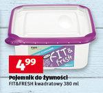 Pojemniki na żywność Fit&Fresh