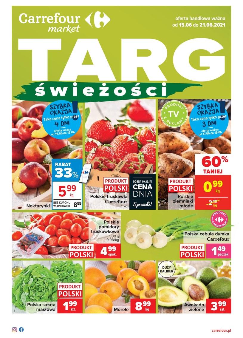 Gazetka promocyjna Carrefour Market - ważna od 15. 06. 2021 do 21. 06. 2021