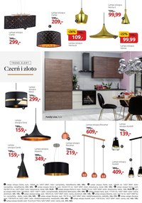 Gazetka promocyjna Black Red White - BRW - lampy do kuchni i jadalni