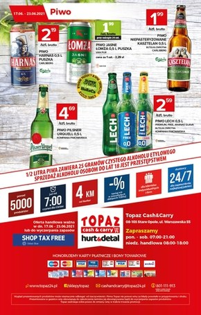 Topaz - nowa oferta hurt & detal