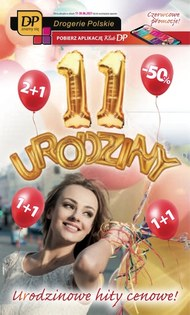 Urodziny w sklepach Drogerie Polskie
