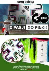 Gazetka promocyjna GO Sport - Go Sport - z pasji do piłki - ważna do 28-06-2021
