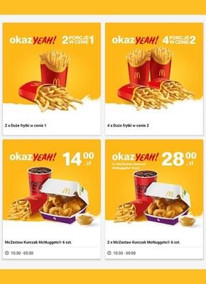 McDonald's - stwórz sobie okazYeah!