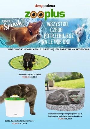 Gazetka promocyjna Zooplus.pl - Letnia ochłoda w Zooplus.pl