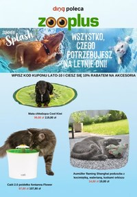 Gazetka promocyjna Zooplus.pl - Letnia ochłoda w Zooplus.pl - ważna do 02-07-2021