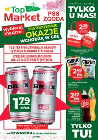 Gazetka promocyjna PSS Zgoda Płock - Najlepsze dla ciebie w PSS Zgoda Płock - ważna do 27-06-2021