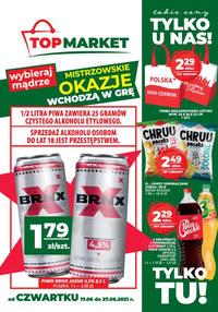Gazetka promocyjna Top Market - Bliżej i taniej z Top Market!   - ważna do 27-06-2021