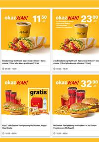 Gazetka promocyjna McDonald's - McDonald's - stwórz sobie okazYeah!