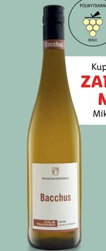 Wino Bacchus