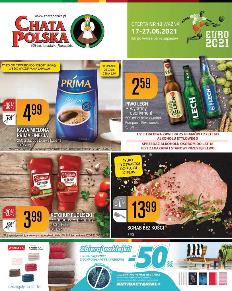 Gazetka promocyjna Chata Polska - ważna od 17. 06. 2021 do 27. 06. 2021