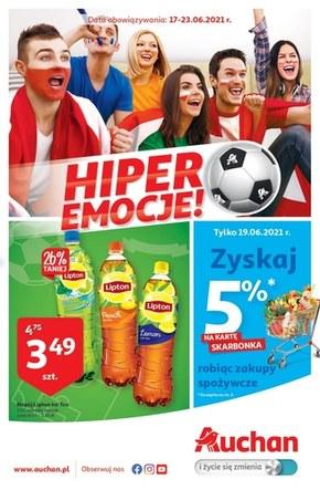 Hiper kibicowanie ciąg dalszy w Auchan!