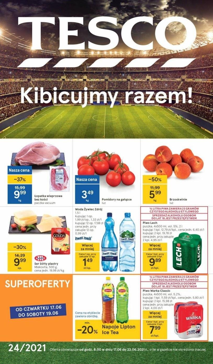 Gazetka promocyjna Tesco Supermarket - ważna od 17. 06. 2021 do 23. 06. 2021