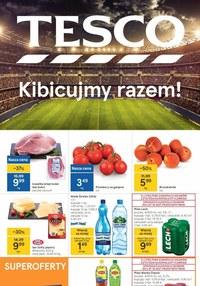 Gazetka promocyjna Tesco Supermarket - Kibicujemy razem w Tesco Supermarket   - ważna do 23-06-2021