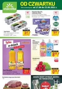 Gazetka promocyjna Stokrotka Supermarket - Odkryj nowy wymiar jakości w Stokrotce!   - ważna do 23-06-2021