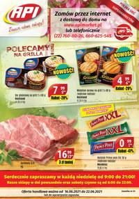Gazetka promocyjna Api Market - Zawsze udane zakupy w Api Market!   - ważna do 22-06-2021