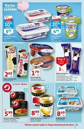 Ceny w dół w Auchan!