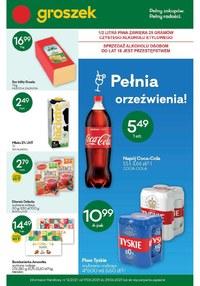 Gazetka promocyjna Groszek  - Najlepsze oferty w sklepach Groszek!