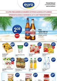 Gazetka promocyjna Euro Sklep - Ciesz się zakupami w Euro Sklep - ważna do 29-06-2021