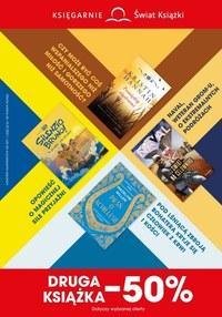 Gazetka promocyjna Księgarnie Świat Książki - Druga książka 50% taniej w Księgarni Świat Książki  - ważna do 13-07-2021