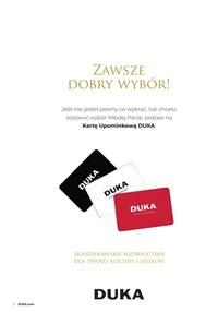 Gazetka promocyjna DUKA - Prezenty ślubne w DUKA