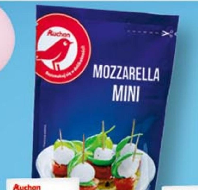Mozzarella Auchan niska cena