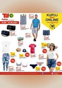 Gazetka promocyjna Tifo - Kupuj też online w Tifo   - ważna do 22-06-2021