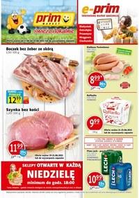 Gazetka promocyjna Prim Market - Ogródek Prim Market i świeże owoce!