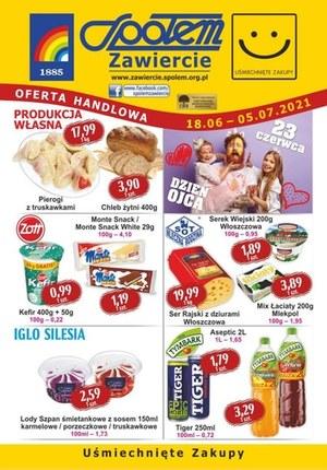 Gazetka promocyjna PSS Społem Zawiercie - PSS Zawiercie gazetka promocyjna