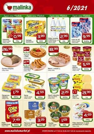 Gazetka promocyjna MALINKA Market - Świeże produkty w Malinka Market