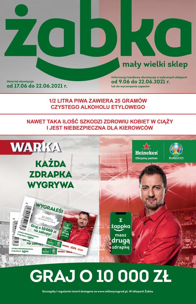 Gazetka promocyjna Żabka - ważna od 17. 06. 2021 do 30. 06. 2021