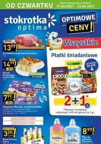 Gazetka promocyjna Stokrotka Optima - Optimowe ceny w Stokrotce!  - ważna do 23-06-2021