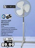Wentylator Switch On