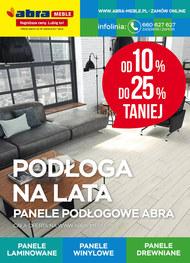 Abra - panele podłogowe do 25% taniej