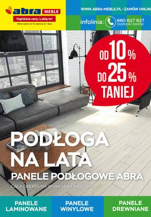 Gazetka promocyjna Abra - Abra - panele podłogowe do 25% taniej