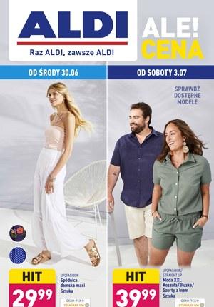 Gazetka promocyjna Aldi - Poznaj modę w Aldi