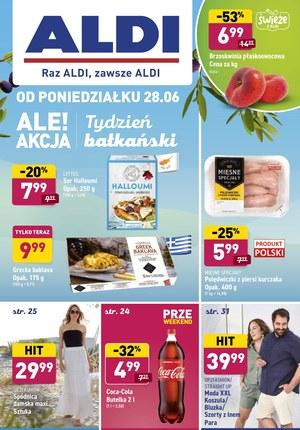 Gazetka promocyjna Aldi - Tydzień bałkański w Aldi