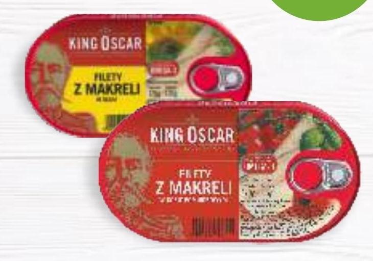 Filet z makreli King Oscar niska cena