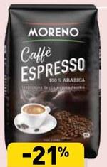 Kawa ziarnista Moreno