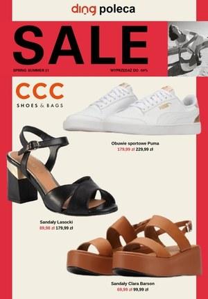Gazetka promocyjna CCC - Wyprzedaż do 50% w CCC!