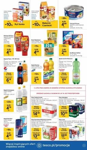 Nadchodzi lato w Tesco Supermarket