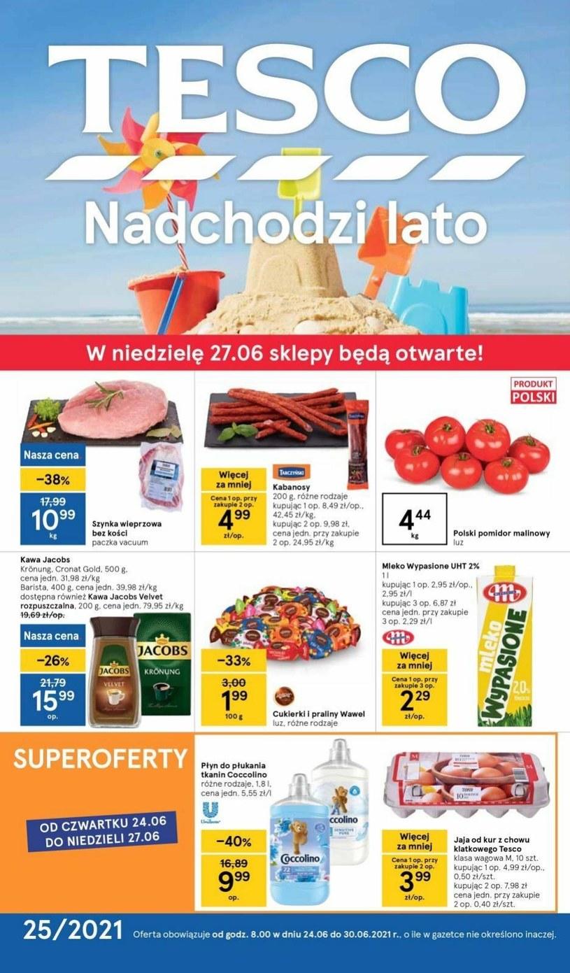 Gazetka promocyjna Tesco Supermarket - ważna od 24. 06. 2021 do 30. 06. 2021